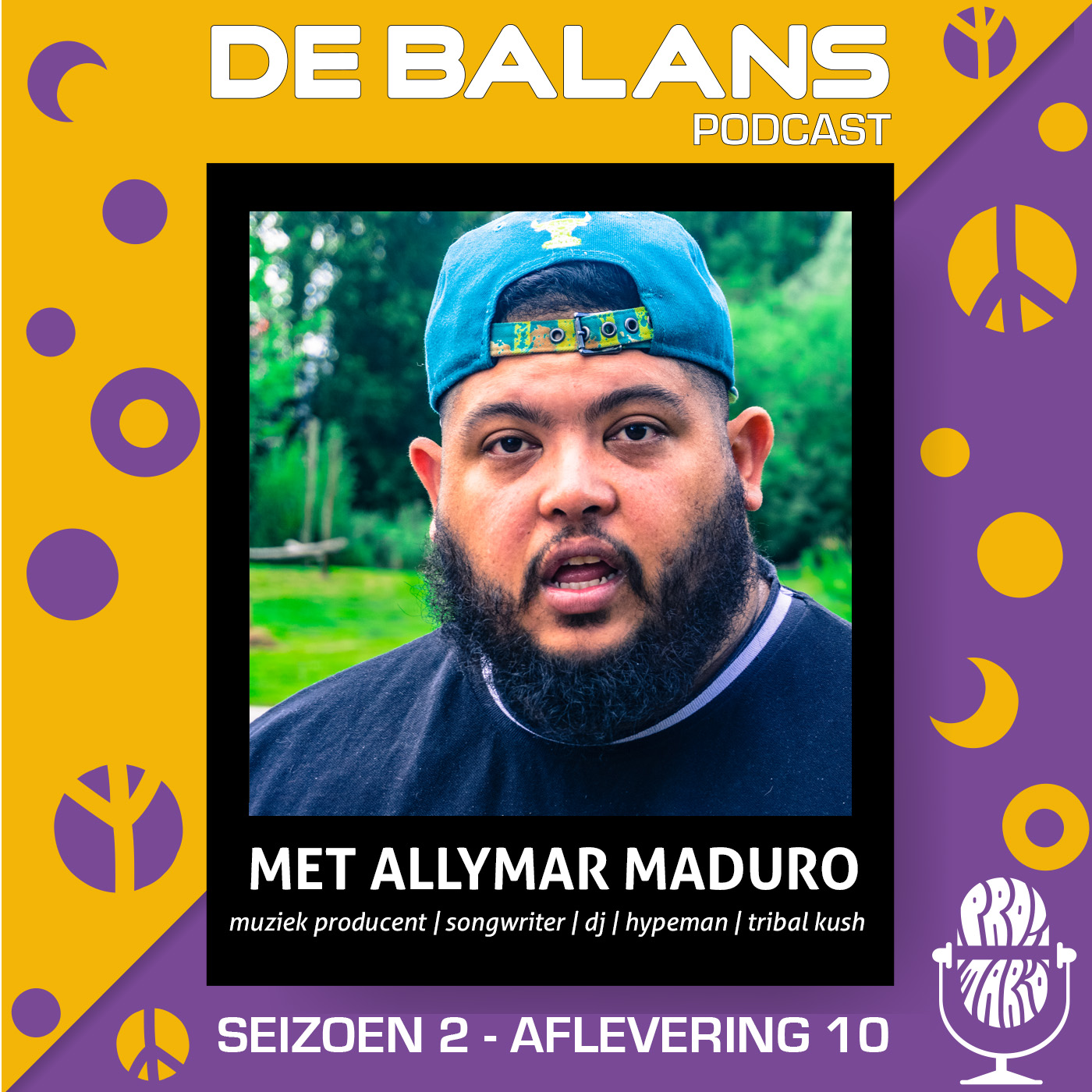 De Balans Podcast: S02E10 –  Allymar Maduro over zijn internationale plannen met TRIBAL KUSH