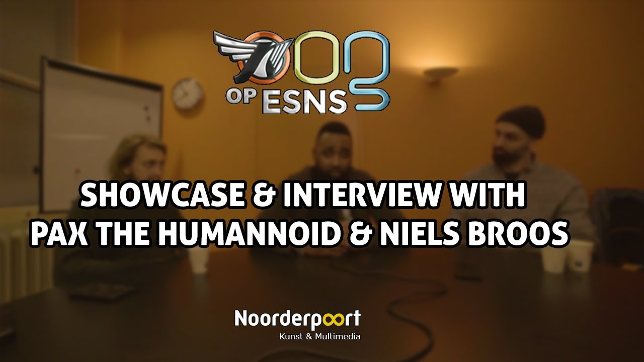 Showcase & Interview with Pax The Humanoid | OOG OP ESNS 2020